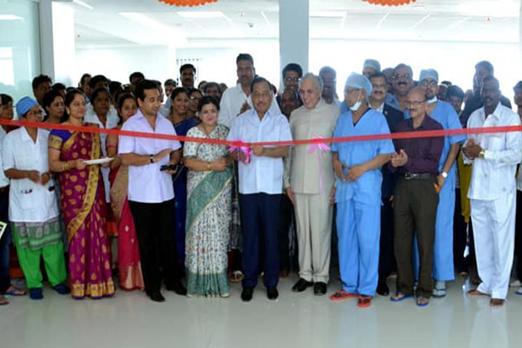 Cardiology department with advanced Cath Lab Opening